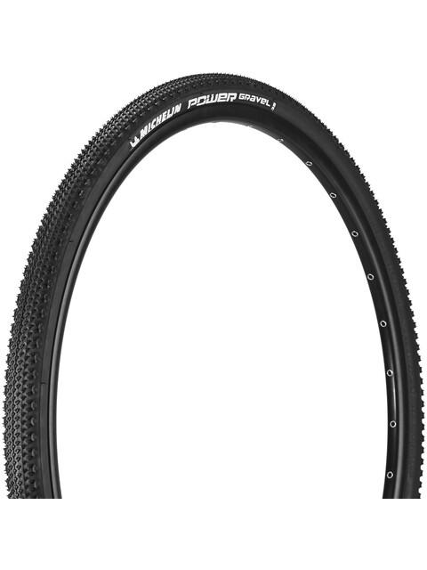 "Michelin Power Gravel Cykeldæk 28"" sort"